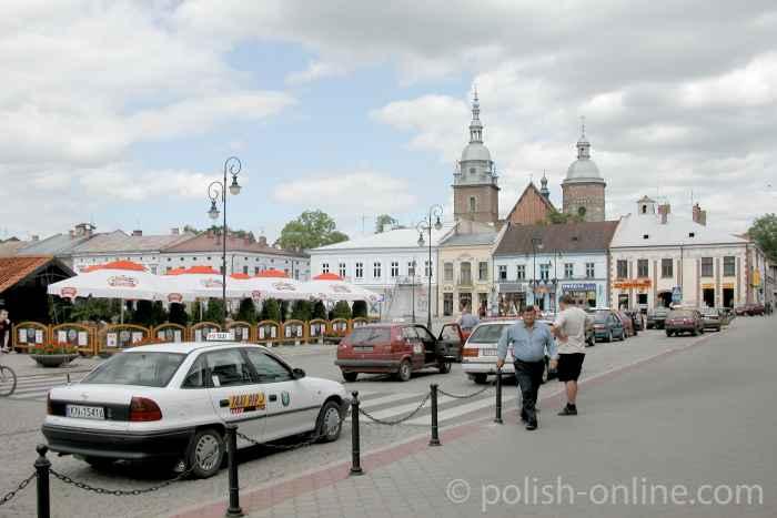 Markt in Neu Sandez (Nowy Sącz)