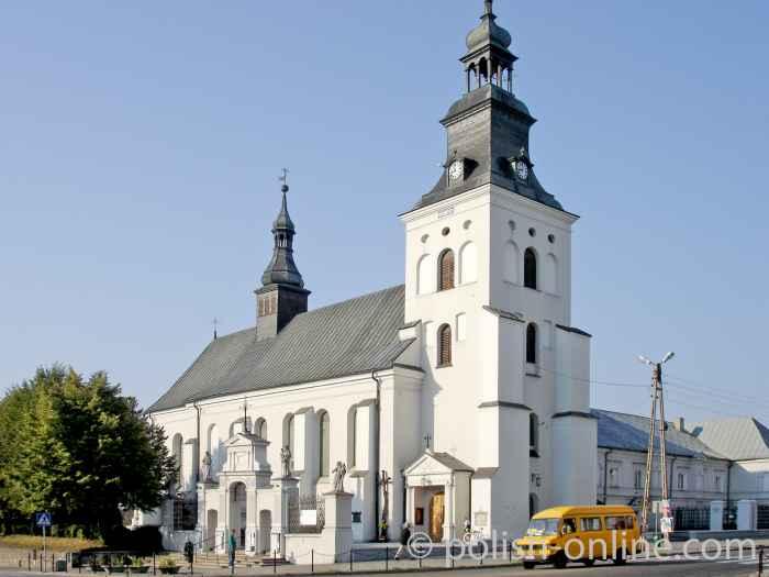 Bernhardinerkloster in Piotrków Trybunalski