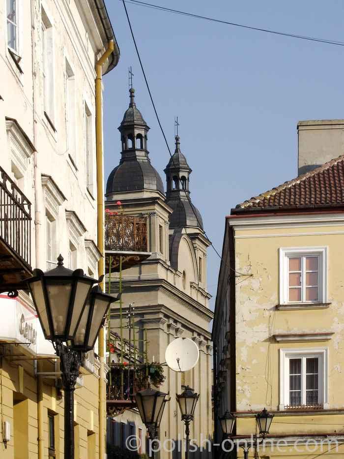 Innenstadt von Piotrków Trybunalski