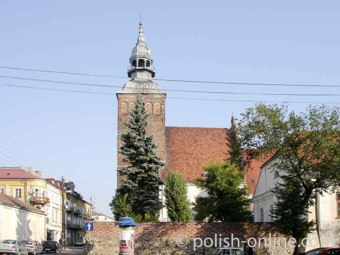 Pfarrkirche in Piotrków Trybunalski