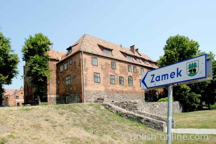 Ordensburg in Rastenburg