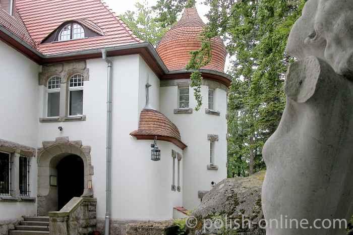 Villa Wiesenstein in Agnetendorf