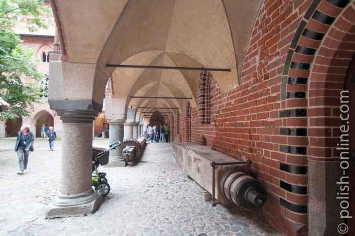 Kreuzgänge Marienburg (Malbork)
