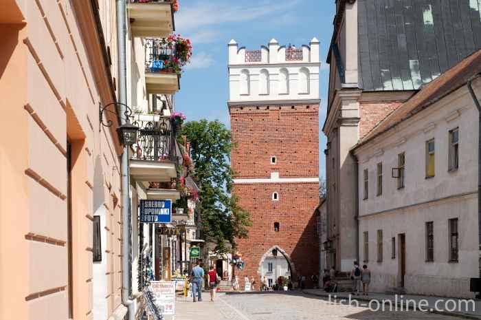 Opatower Tor in Sandomierz