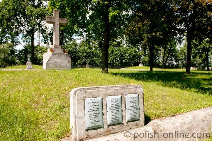 Schlacht von Tarnów-Gorlice 1915 - Gräber in Otfinów