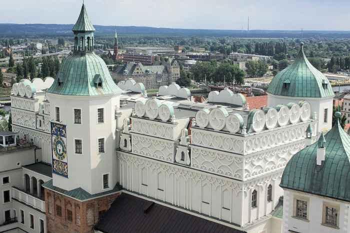 Schloss in Stettin (Szczecin)