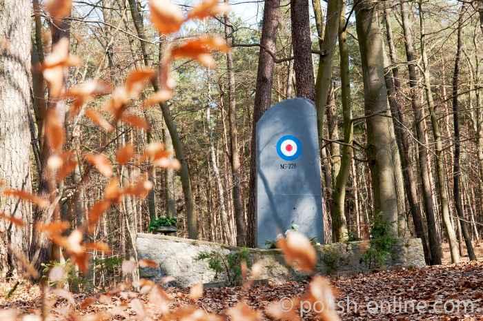 Denkmal der RAF-Piloten in Swinemünde