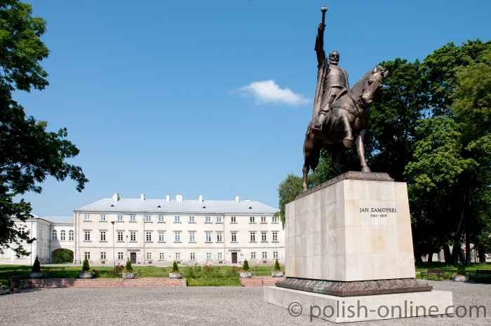 Jan Zamoyski Denkmal in Zamość
