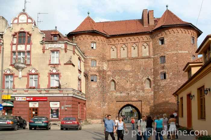 Das Hohe Tor in Heilsberg (Lidzbark Warmiński)