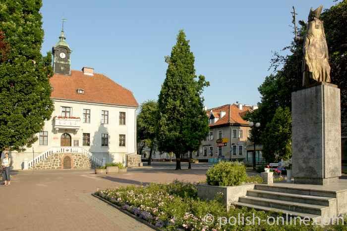 Rathaus von Sensburg (Mrągowo)