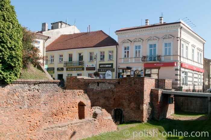 Stadtmauer in Jarosław