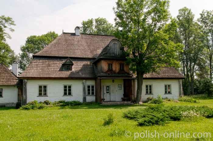 Gutshaus in Łopuszna bei Zakopane in der Tatra in Polen