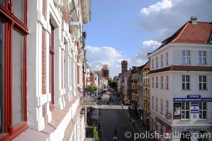 Innenstadt von Thorn (Toruń)