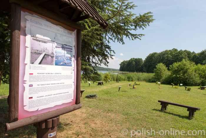 Halbinsel Adlerkopf in Groß Born (Borne Sulinowo)
