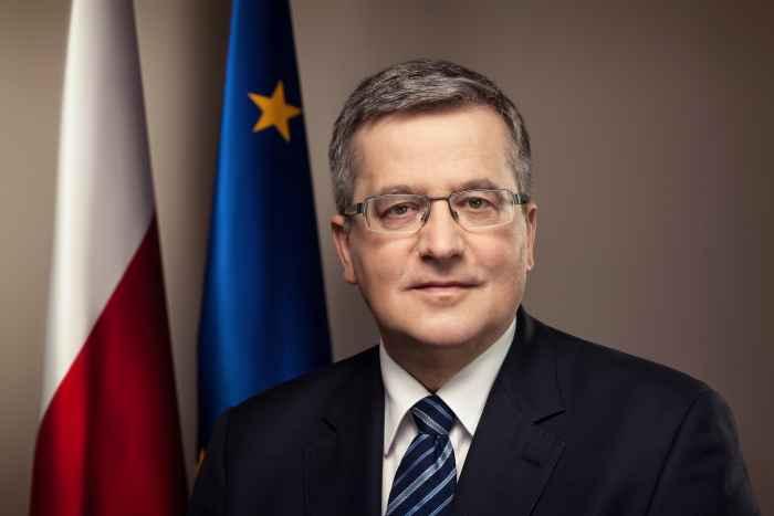 Polens Präsident Bronisław Komorowski