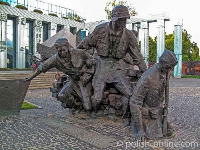 Denkmal Warschauer Aufstand