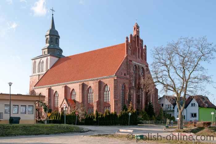 Nikolaikirche in Wollin (Wolin)
