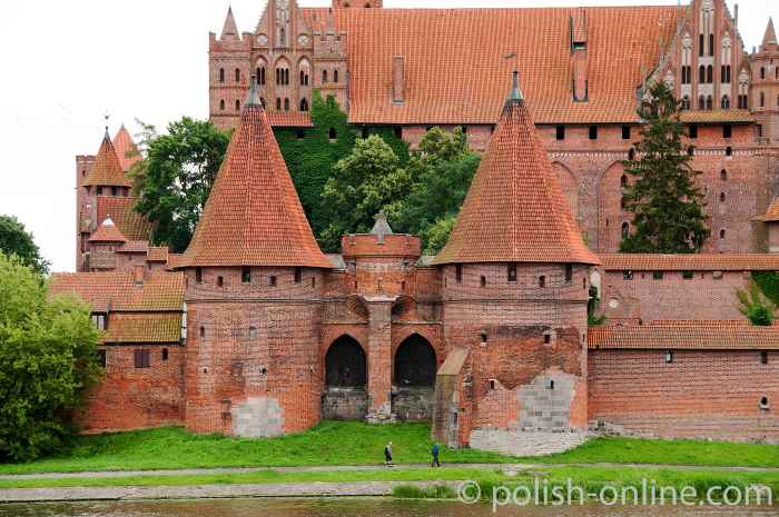 Brückentor Marienburg (Malbork, Polen)