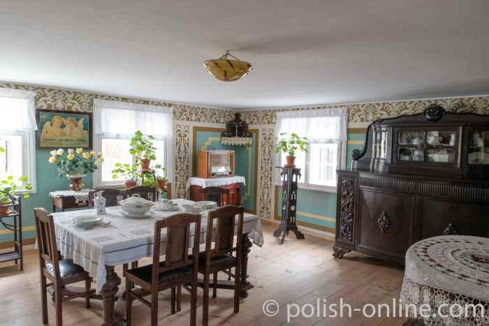 Wohnzimmereinrichtung aus den 1930er Jahren