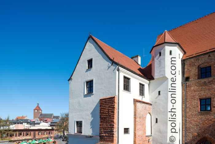 Schloss der Herzöge von Pommern in Rügenwalde (Darłowo)