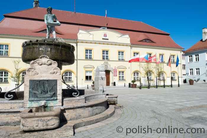 Das barocke Rathaus von Rügenwalde (Darłowo)