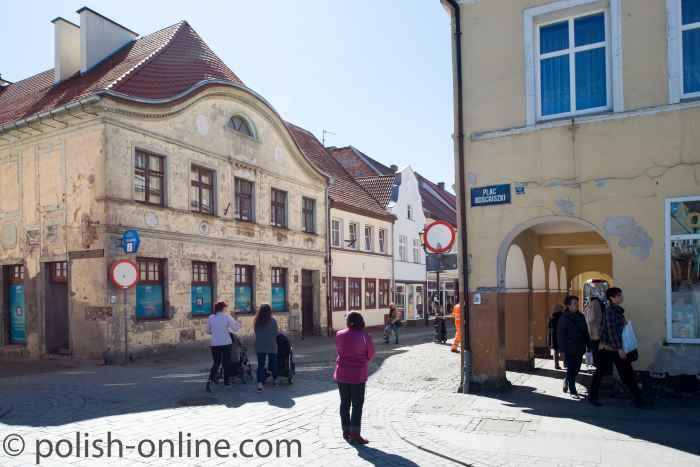 Bürgerhaus in Rügenwalde (Darłowo)