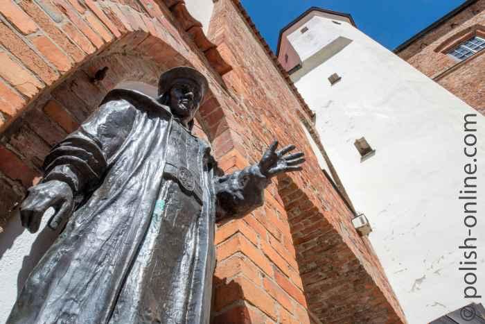 Statue von Erik VII. in Rügenwalde (Darłowo)