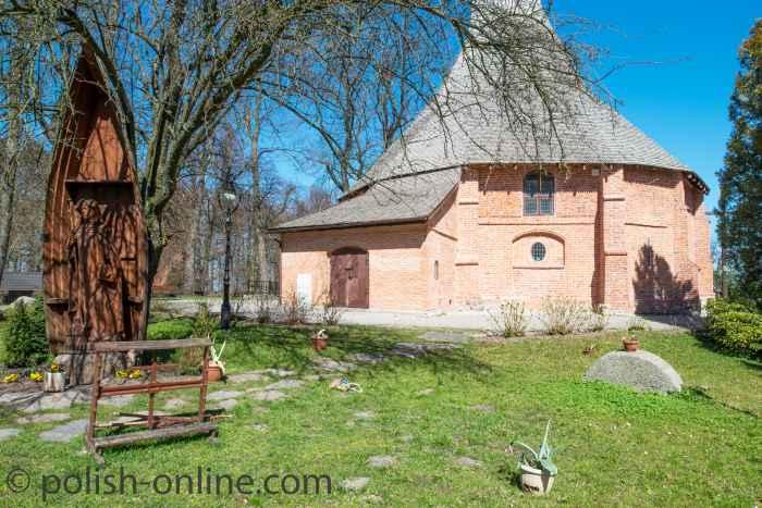 Spätgotischen St.-Gertrud-Kirche Rügenwalde (Darłowo)