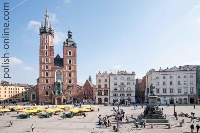 Marienkirche in Krakau (Kraków) in Polen