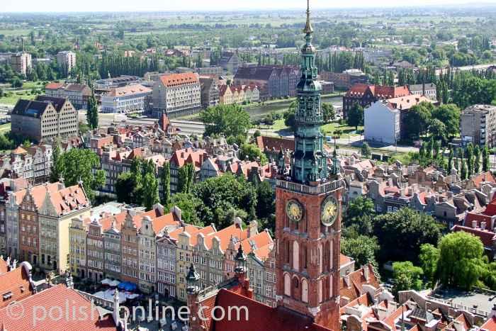 Rathausturm Danzig