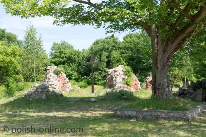 Ruinen der Marienkirche in Küstrin (Kostrzyn)