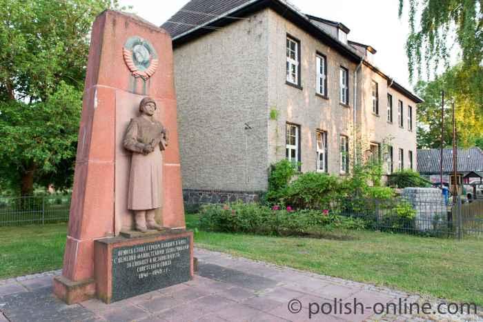 Soldatenfriedhof der Roten Armee in Küstrin-Kietz