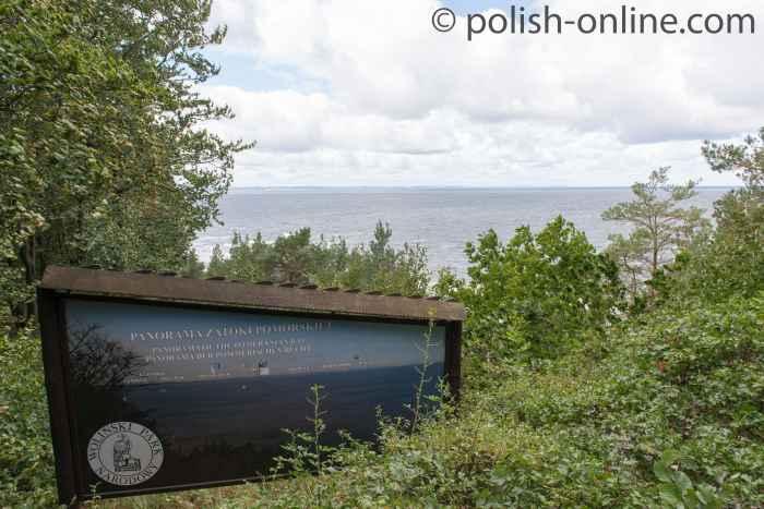 Blick vom Kaffeeberg bei Misdroy an der Ostsee