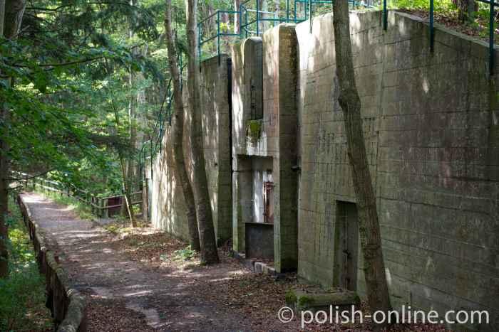 Ehemalige polnische Artilleriestellung bei Misdroy