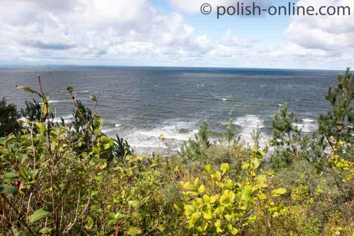 Blick über die Ostsee bei Misdroy