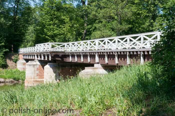 Foto Doppelbrücke Fürst-Pückler-Park Bad Muskau