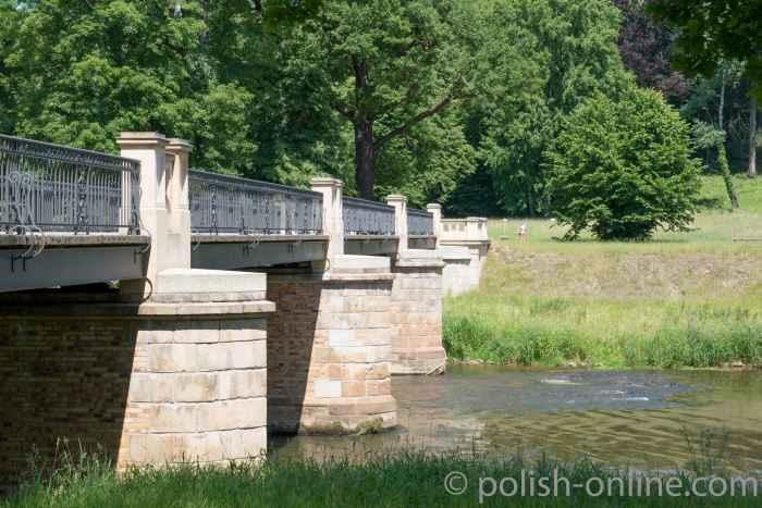 Foto Englische Brücke Fürst-Pückler-Park Bad Muskau