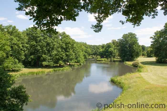 Foto Neiße Fürst-Pückler-Park Bad Muskau