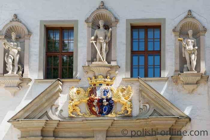 Foto Schlosswappen Bad Muskau