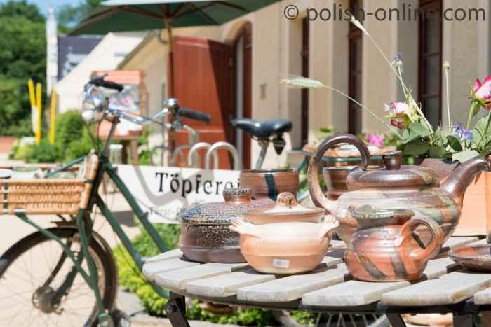 Foto von Töpferware