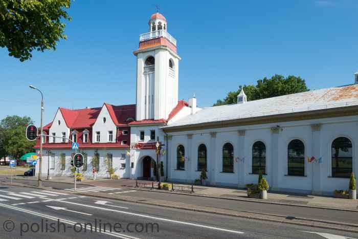 Das Schützenhaus in Słubice