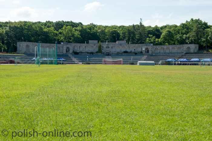 Das ehemalige Ostmarkstadion in Słubice