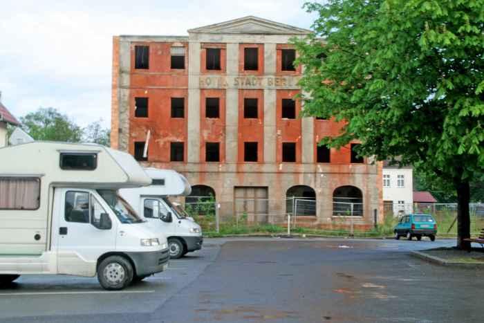 Ruine Hotel Stadt Berlin Bad Muskau