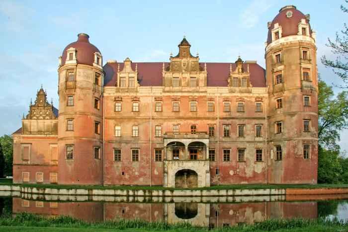 Ruine Neues Schloss Bad Muskau