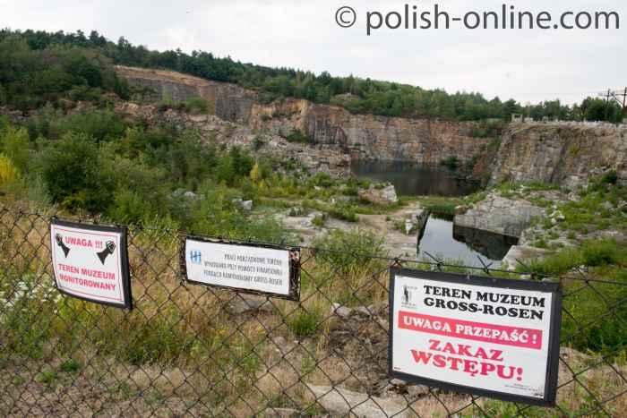 Steinbruch des KZ Groß-Rosen