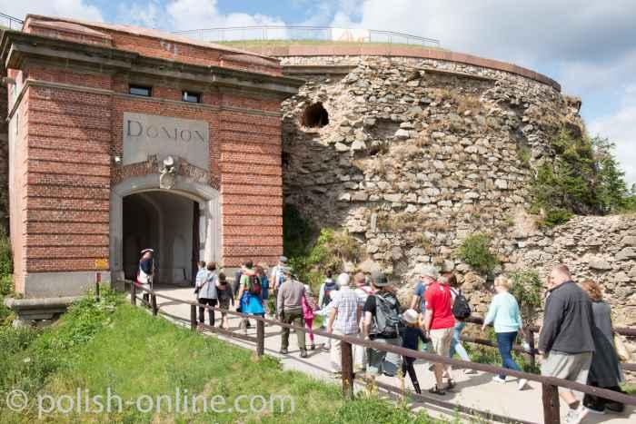 Eingang zum Donjon