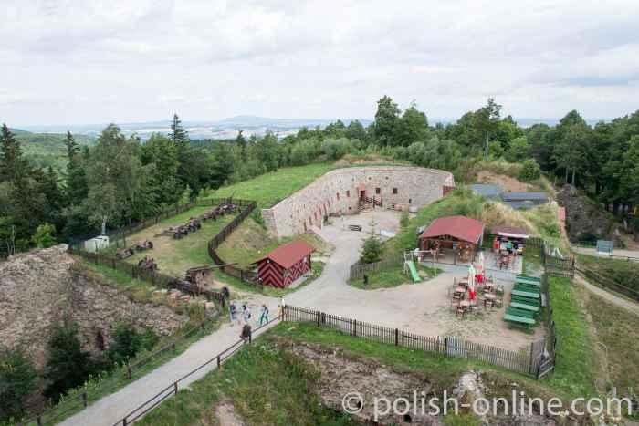 Niederbastion Festung Silberberg Polen