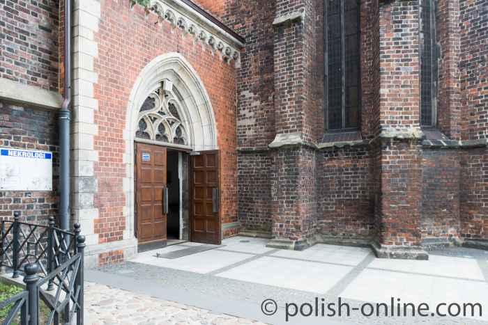 Seiteneingang Nikolaikirche Brieg (Brzeg)