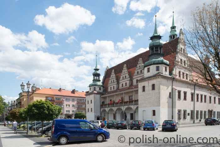 Rathaus von Brieg (Brzeg)