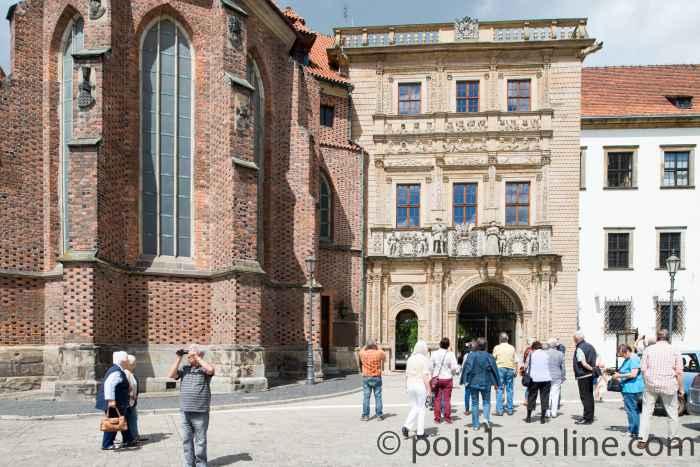 Schlosspartal Brieg (Brzeg)